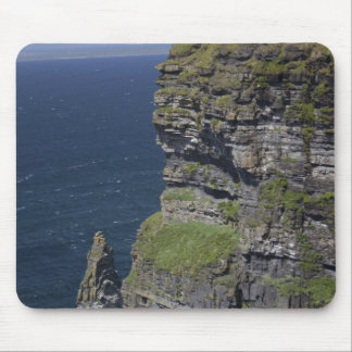 Scenic Cliffs of Moher and O'Brien's Tower Mouse Pad
