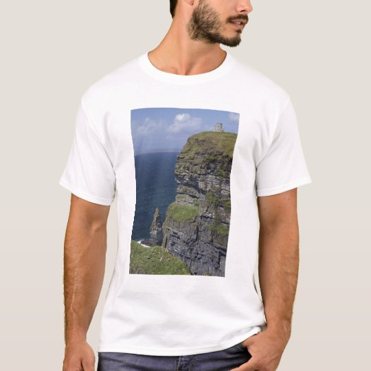 Scenic Cliffs of Moher and O'Brien's Tower T-Shirt