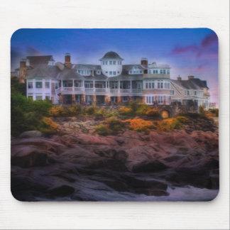 Scenic Coastal Sunrise Cape Neddick Maine Mouse Pad