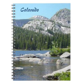 Scenic Colorado Spiral Notebook