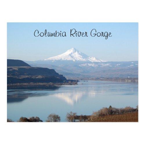 Scenic Columbia River Gorge Travel Postcard