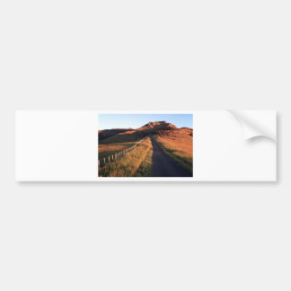 Scenic country road Banks Peninsula Bumper Sticker