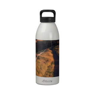 Scenic country road Banks Peninsula Reusable Water Bottles