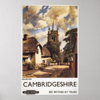 Scenic Country View British Railways Poster