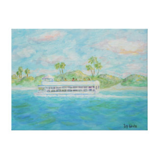 SCENIC CRUISE Canvas Print