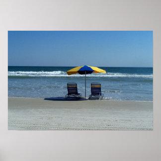 Scenic Daytona Beach Photograph Poster
