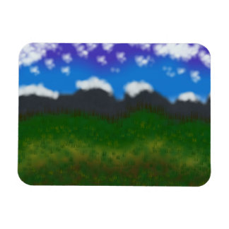 Scenic Digital Painting Premium Flexi Magnet