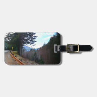 Scenic Drive Rt 101 Olympic National Park Bag Tag
