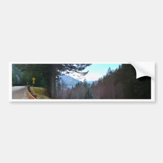 Scenic Drive Rt 101 Olympic National Park Bumper Sticker