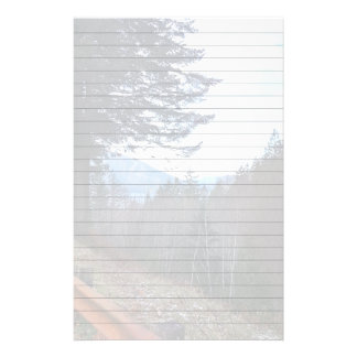 Scenic Drive Rt 101 Olympic National Park Stationery