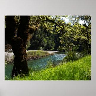 Scenic Eel River Poster