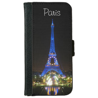 Scenic Eiffel Tower at Night iPhone 6/6s Wallet Case
