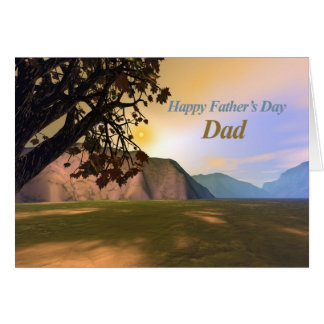 Scenic Father's Day Card