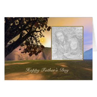 Scenic Father's Day (photo frame) Card