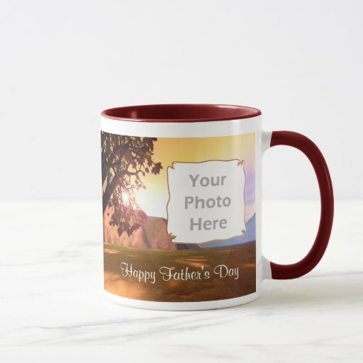 Scenic Father's Day (photo frame) Mug