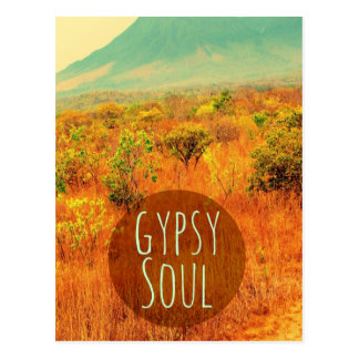 Scenic Gypsy Soul Gift For Travelers Postcard