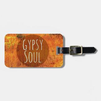 Scenic Gypsy Soul Traveler Luggage Luggage Tag