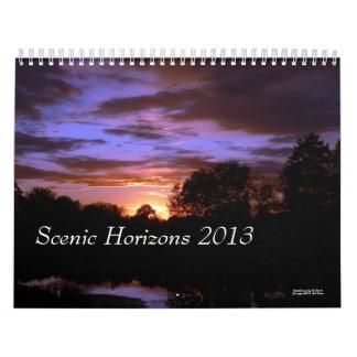 Scenic Horizons 2013 Calendar