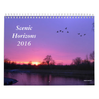Scenic Horizons Calendar, 2016 Calendar