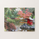 "Scenic Japanese Garden Photo Jigsaw Puzzle<br><div class=""desc"">A challenging jigsaw puzzle that features a photo image of a lovely, autumn setting in a Japanese garden (Point Defiance Park Japanese Garden). Select your puzzle size. Fun for the whole family! NOTE: Image optimized for puzzles up to 16 x 20 inches. To see other items we have to offer,...</div>"