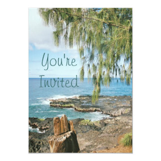 Scenic Kauai Invitation
