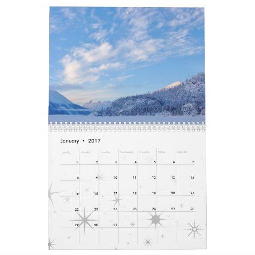 Scenic Kenai Peninsula, Alaska Calendar