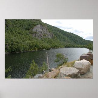 Scenic Lake in the Adirondacks print  004