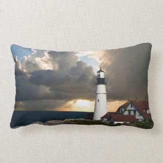 Scenic Lighthouse Beacon Lumbar Pillow