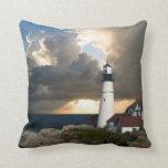 Scenic Lighthouse Beacon Pillow
