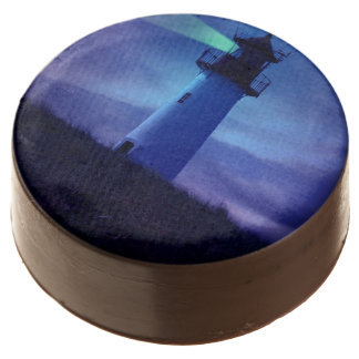 Scenic Lighthouse Chocolate Dipped Oreo
