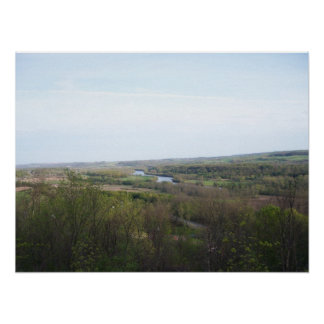 Scenic Lookout Near Dolgeville, NY Poster
