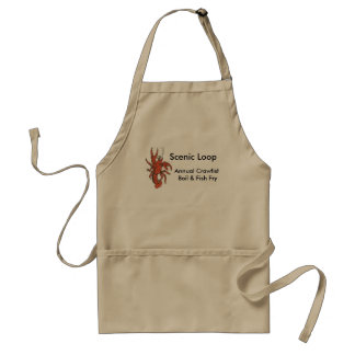 Scenic Loop Crawfish Apron