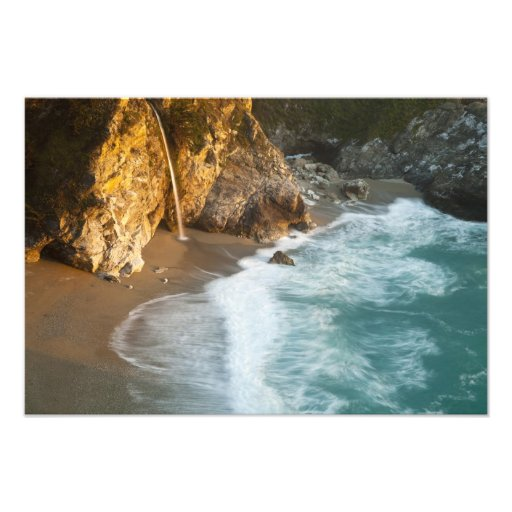 Scenic McWay Falls tumbles into the beach and 2 Photo