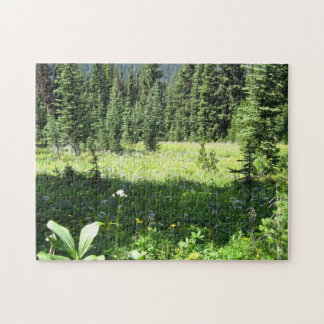 Scenic Meadow Jigsaw Puzzle