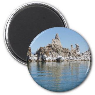 Scenic Mono Lake 2 Inch Round Magnet