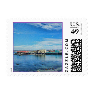 Scenic Monterey Bay at the Wharf Postage