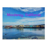 Scenic Monterey Bay at the Wharf Postcard