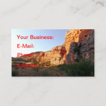 Scenic Mountain Nature Hike Business Card