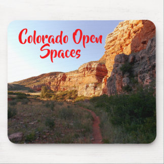 Scenic Mountain Nature Hike Mouse Pad