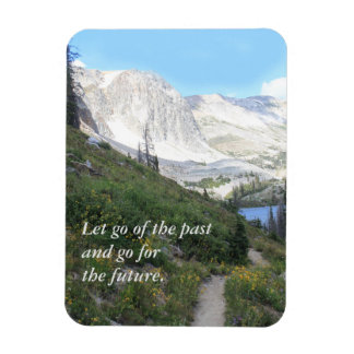 Scenic Mountain Path Inspirational Magnet