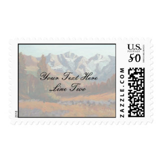 Scenic Mountain Wedding and More Set Postage