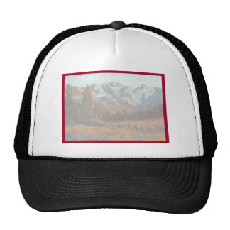 Scenic Mountain Wedding Invitation Set Trucker Hat