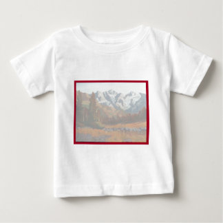 Scenic Mountain Wedding Invitation Set Infant T-shirt