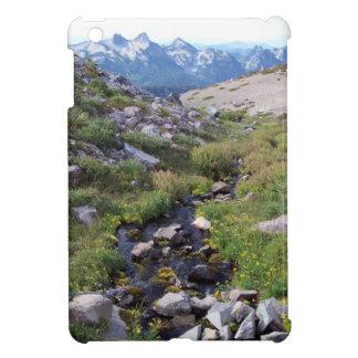 Scenic Mt. Rainier Mountain Landscape iPad Mini Case