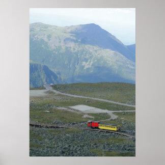Scenic Mt. Washington Summit Cog Railway Poster