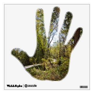 Scenic Nature Trail with Pathway on Hand Decal