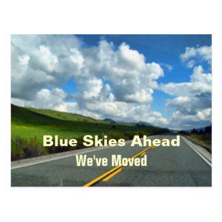 Scenic New Address Moving News Postcard