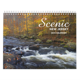 Scenic New Jersey - 2015 Calendar