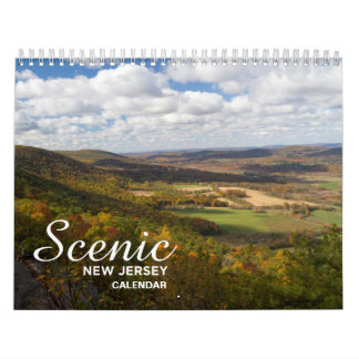Scenic New Jersey Calendar