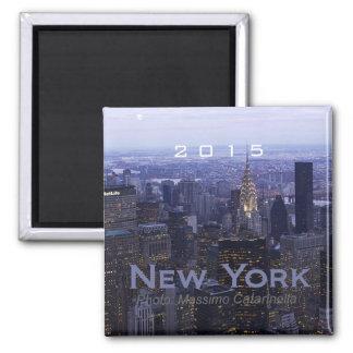 Scenic New York Travel Souvenir Fridge Magnet
